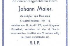 1952-04-19-Maier-Johann-Hemerau-Austrägler