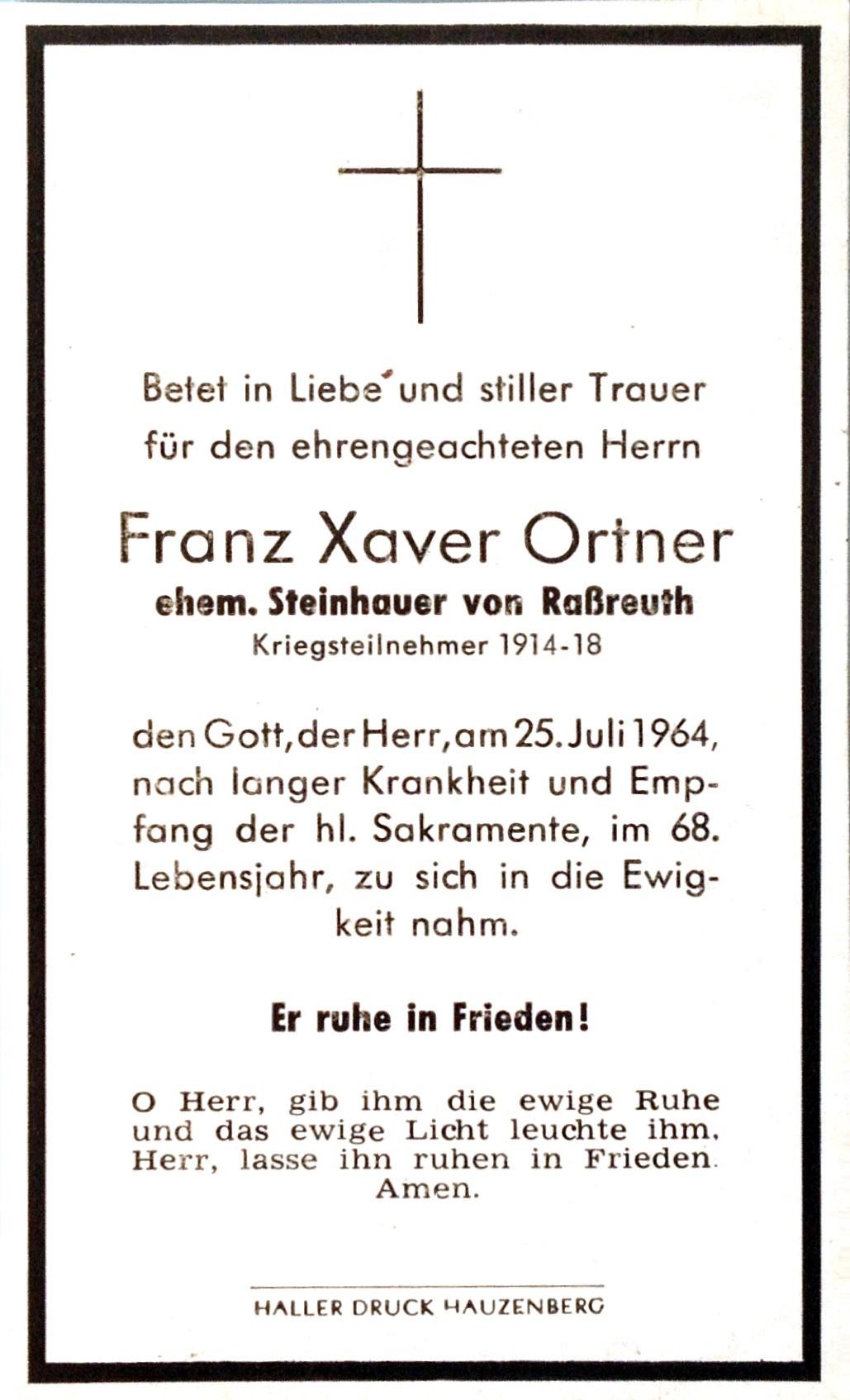 1964-07-25-Ortner-Franz-Xaver-Raßreuth-Steinhauer