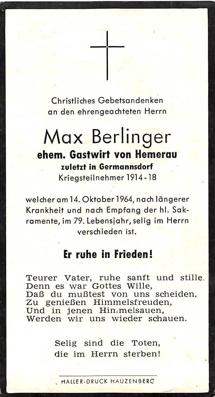 1964-10-14-Berlinger-Max-Hemerau-Gründungsmitglied-Vereinswirt