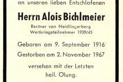 1967-11-02-Bichlmeier-Alois-Neidlingerberg-Rentner