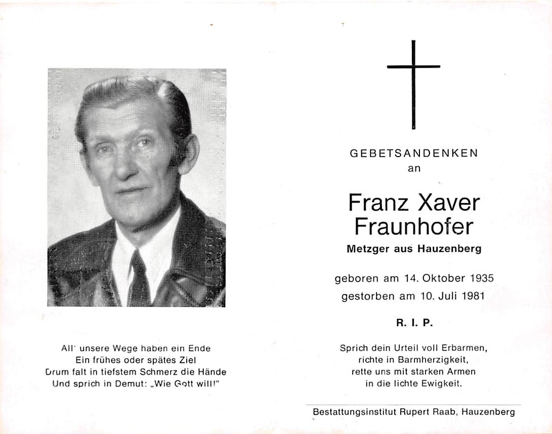 1981-07-10-Fraunhofer-Franz-Xaver-Hauzenberg-Metzger
