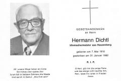 1982-01-31-Dichtl-Hermann-Hauzenberg-Uhrmachermeister