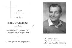 1998-08-05-Gründinger-Ernst-Dorn