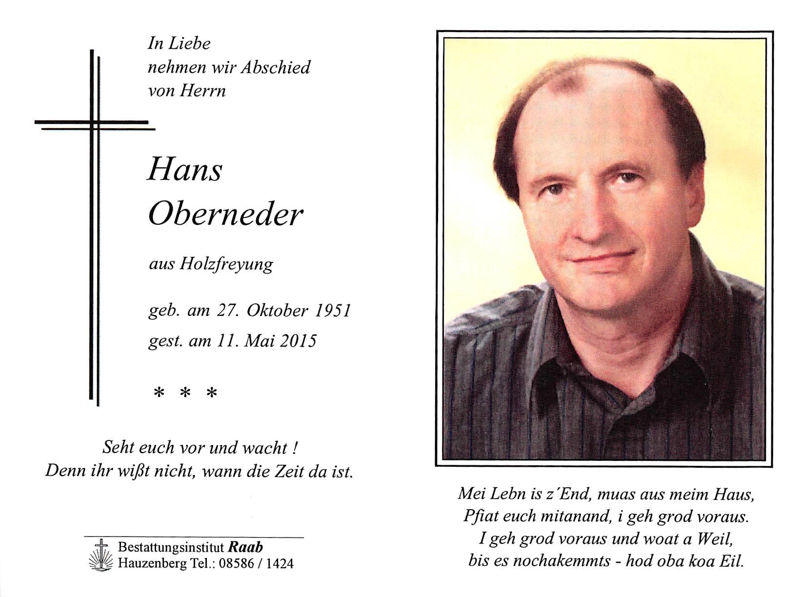 2015-05-11-Oberneder-Hans-Holzfreyung