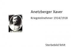 Anetzberger-Xaver