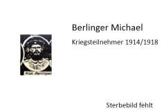 Berlinger-Michael
