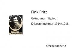Fink-Fritz-Gründungsmitglied