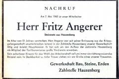 1964-05-07-Angerer-Fritz-Hauzenberg-Steinmetz-Nachruf-Gewerkschaft