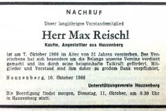 1966-10-10-Reischl-Max-Hauzenberg-Kauf.Angestellter-Nachruf-UVH