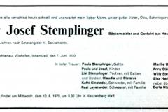 1970-06-07-Stemplinger-Josef-Hauzenberg-Bäckermeister-Gastwirt