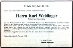 1973-01-29-Weidinger-Karl-Metzger-Danksagugn