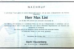 1974-03-23-List-Max-Hauzenberg-Kaufmann-Nachruf-Marktgemeinde