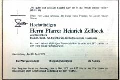 1975-04-29-Zellbeck-Heinrich-Hauzenberg-Pfarrer-Ehrenbürger