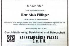 1977-02-02-Pillinger-Alois-Hauzenberg-Nachruf
