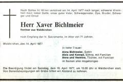 1977-04-14-Bichlmeier-Xaver-Waldkirchen