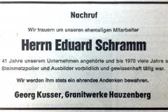 1981-03-18-Schramm-Eduard-Weiherreuth-Steinmetzpolier-Nachruf