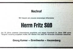 1981-06-04-Süß-Fritz-Neidlingerberg-Nachruf
