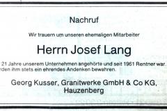 1983-12-07-Lang-Josef-Oberfrauenwald-Nachruf