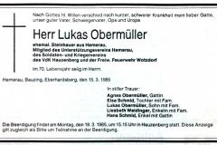 1985-03-15-Obermüller-Lukas-Hemerau-Steinhauer